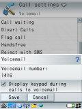 Callsettings